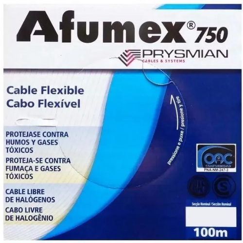 Cable unipolar Afumex Prysmian