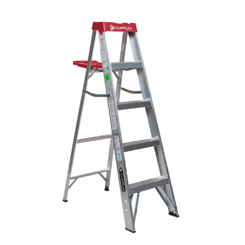 Escalera Cuprum aluminio 5 escalones. SKU 55c2312-05