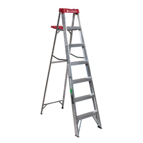 Escalera Cuprum aluminio 7 escalones. SKU 55c2312-07